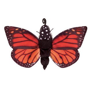 Folkmanis Puppets Monarch Butterfly Life Cycle Hand Puppet