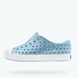 Native Jefferson Bling Light Sky/ Shell White Native Shoes