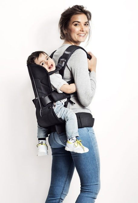 A Great Ergonomic Baby Carrier One by BabyBjorn at Abby Sprouts in ...