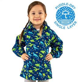 Jan & Jul by Twinklebelle Puddle-Dry Rain Jackets Dinoland by Jan & Jul