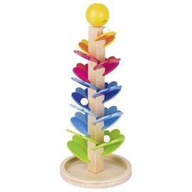 Goki Pegado Marble Game Wooden Tree