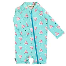 Jan & Jul by Twinklebelle Watermelon Print, One Piece UV Protection  Baby Swim Suit by Jan & Jul