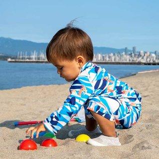 Jan & Jul by Twinklebelle Sea Dragon Print, Sun & Splash 2 Piece UV Protection Swim Suit by Jan & Jul