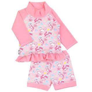 Jan & Jul by Twinklebelle Diving Cats Print, Sun & Splash 2 Piece UV Protection Swim Suit by Jan & Jul