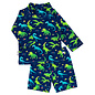 Jan & Jul by Twinklebelle Dinoland Print, Sun & Splash 2 Piece UV Protection Swim Suit by Jan & Jul