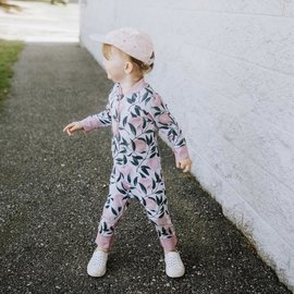Honeysuckle 'Peach Perfect' Print UV Protection One Piece Suit
