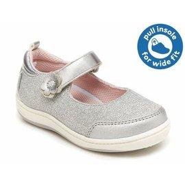Stride Rite 360 'Bella' Style Silver Colour Shoe by Stride Rite
