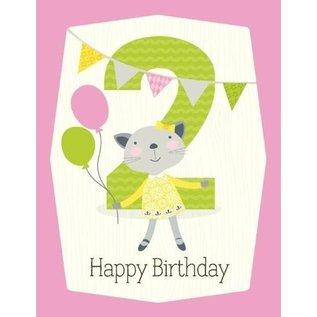 yellow bird paper Year # Birthday Cards by yellow bird paper