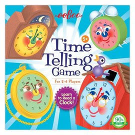 Eeboo Time Telling Game by Eeboo (Ages 5+)