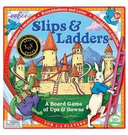 Eeboo Slips & Ladders Board Game by Eeboo