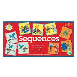 Eeboo Logical Sequencing (All in Order) Learning Game