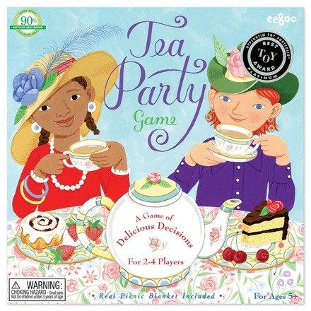 Eeboo Tea Party Spinner Game by Eeboo