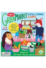 Eeboo Green Market Spinner Game by Eeboo