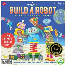 Eeboo Build a Robot Spinner Game by Eeboo