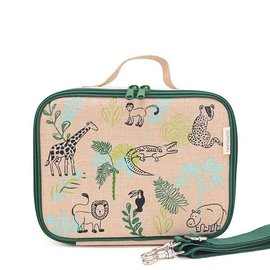 SoYoung Raw Linen Insulated Lunch Box by SoYoung