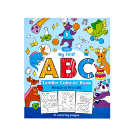 Ooly ABC Colouring Book Amazing Animals