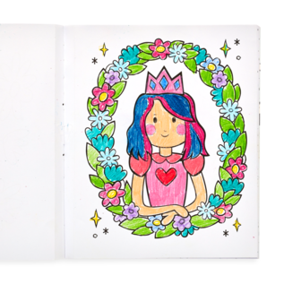 Ooly Princesses and Fairies Colouring Book