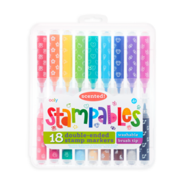 Ooly Stampables Double-Ended Scented Stamp Markers by Ooly