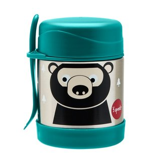 3 Sprouts 3 Sprouts Bear Stainless Steel Insulated Food Jar
