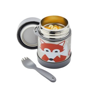 3 Sprouts 3 Sprouts Fox Stainless Steel Insulated Food Jar