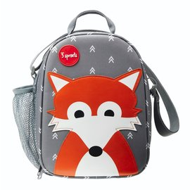 3 Sprouts 3 Sprouts Insulated Fox Lunch Bag