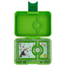 Yumbox Leak Proof Bento Box 3 Compartment Snack Size Yumbox