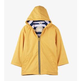 Hatley Waterproof Yellow & Navy Splash Jacket by Hatley