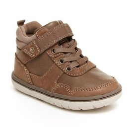 Stride Rite Ryker Style Greige Colour High Top Shoe by Stride Rite