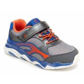 Stride Rite Lighted Swirl Blue/Orange Running  Shoe by Stride Rite