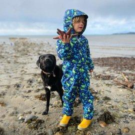 Jan & Jul by Twinklebelle Dinoland Puddle-Dry Waterproof Play Suit by Jan & Jul