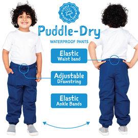 Jan & Jul by Twinklebelle Solid Colour Puddle-Dry Single Layer Rain Pants by Jan & Jul