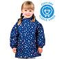 Jan & Jul by Twinklebelle Terrazzo Print Fleece Lined Rain Jacket by Jan & Jul