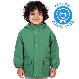 Jan & Jul by Twinklebelle Fern Green Fleece Lined Jacket by Jan & Jul