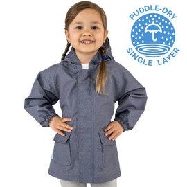 Jan & Jul by Twinklebelle Puddle-Dry Rain Jacket Heather Grey by Jan & Jul