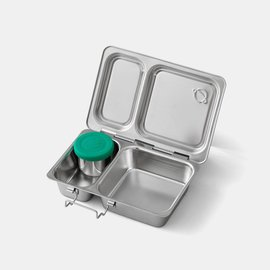 Planetbox PlanetBox Shuttle Stainless Steel Bento Box