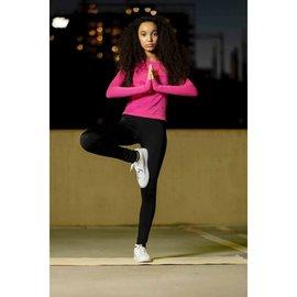 Black Full Length Adjustable Activewear Leggings