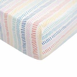 Kyte Baby Printed Bamboo Crib Sheet by Kyte