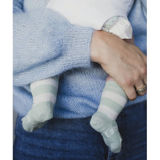 Lamington Juno Print Merino Wool Crew Length Socks