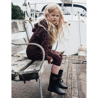 Lamington Hundreds & Thousands Print Merino Wool Knee High Socks