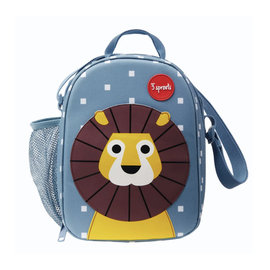 3 Sprouts 3 Sprouts Insulated Lion Lunch Bag