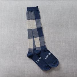Lamington Ocean Print Merino Wool Knee High Socks