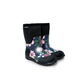 Stonz Wildflower Print, West Style Insulated Boot by Stonz