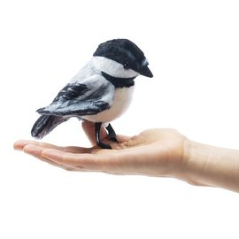 Folkmanis Puppets Mini Chickadee Finger Puppet by Folkmanis