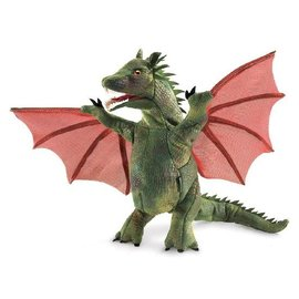 Folkmanis Puppets Winged Dragon Puppet