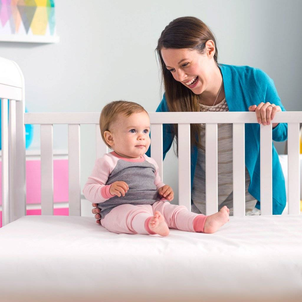 Lullaby Earth Lightweight Crib Mattresses With No Flame