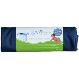 AMP Washable Pail Liner for Cloth Diapers by AMP