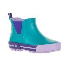 Kamik Rainplay Low Style Rubber Rain Boots by Kamik