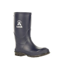 Kamik Navy Stomp Style Rubber Rain Boots by Kamik