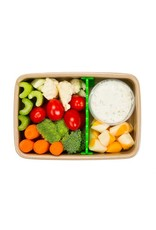 BeatrixNY Rice Fiber Bento Box with Movable Divider by BeatrixNY