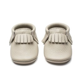 Minimoc Minimocs Leather Soft Sole Shoes (Solid Colours with Fringe)